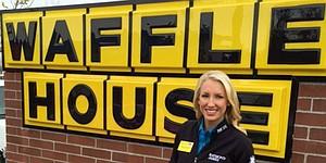 Waffle House flips for LPGA's Brooke Pancake