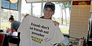 Pancake's Waffle House partnership boosts LPGA
