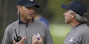 Couples copes with missed Ryder Cup captaincy bid