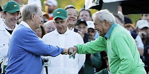 Arnold Palmer remains honorary starter for 2015 Masters