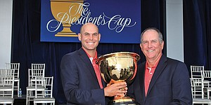 Mr. Popularity: Haas remakes image of Presidents Cup captain