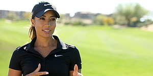 Earl Woods' letter a driving factor in granddaughter Cheyenne's career