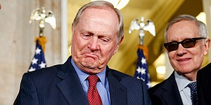 Jack Nicklaus accepts Congressional Gold Medal