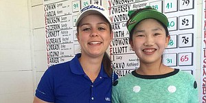 Lucy Li, partner qualify for U.S. Women's Four-Ball