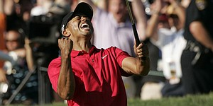40 reads: Wounded Woods prevails at 2008 U.S. Open