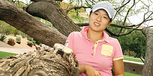 A league apart: Kelly Shon reps the Ivies on LPGA