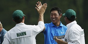 James Hahn's well-timed Augusta ace gives reason to celebrate