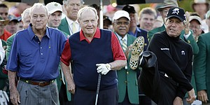 'Big Three' get things started at 2015 Masters