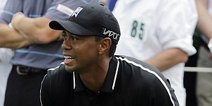 Tiger breaks 70 with old Masters mojo