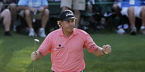 Phil in contention at Augusta: A familiar Masters feeling