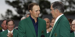 Spieth's steady pulse, big heart lead to green jacket