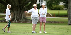 Legends, Symetra players unite on Patty Berg's turf