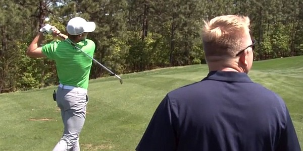 VIDEO: Catching up with No. 1 junior Sam Burns