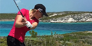 Still got it: Annika makes Mother's Day ace in Bahamas