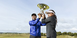 Mitsunaga, Liu chart Women's Four-Ball history on Oregon coast