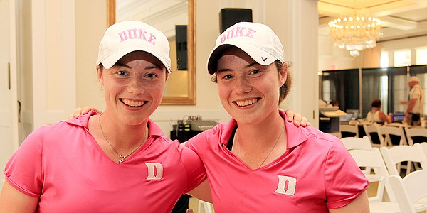 Sister, sister: Duke's Maguire twins a delightful combination