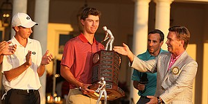 Stanford's Maverick McNealy wins 2015 Haskins Award