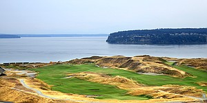 Navigating Chambers Bay in practice a real headache