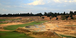 Chambers Bay tops reclaimed mining/dump sites converted into golf
