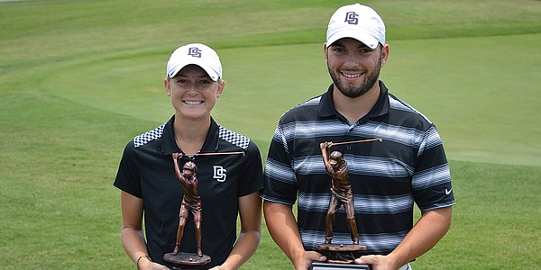 College golf's most decorated couple wins NAIA titles