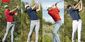 U.S. Open: Jordan Spieth's Under Armour scripted outfits