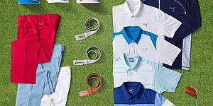 U.S. Open: Rickie Fowler's Puma scripted outfits