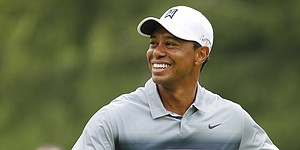 Tiger Woods opens Greenbrier Classic week in front of media