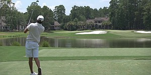 VIDEO: Players Am field tries out North Course at Berkeley Hall