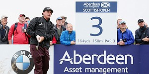 Ballstriking helps Phil Mickelson climb leaderboard at Scottish Open