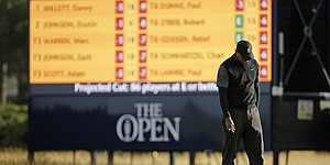Tiger Woods fades away as British Open cut approaches