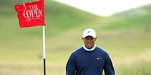 Recap: Tiger misses cut, DJ keeps lead Saturday at British Open