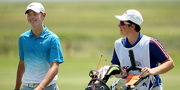 With Hovland on bag, Reitan stays cool in Carolina heat to advance at U.S. Junior