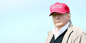 Who�s leading Women�s British Open? Why Donald Trump, of course