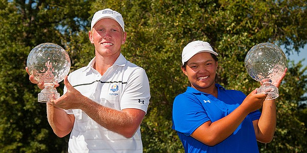 Brad Dalke, Elizabeth Wang log playoff victories at Junior PGA