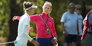 Jessica Korda makes time for little sis in Portland; eye on Solheim Cup