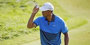 Tiger Woods puts on late-afternoon show for Sedgefield patrons