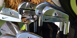 PHOTOS: Equipment on the range at Deutsche Bank Championship