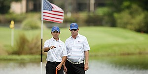 Huerta hopes to continue golf journey with win at Program Challenge
