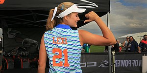 On her 21st birthday, Lexi Thompson celebrates with golf and camaraderie