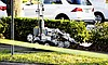 A bomb squad robot was brought in to investigate the scene of a suspicious package at the Rosen Family Center near Rollins College in Winter Park.