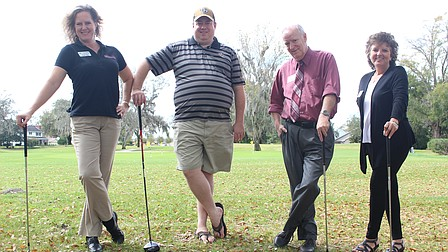 Casselberry vs. Maitland in a charity golf round