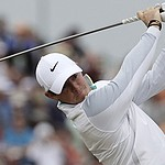 Rory McIlroy films trick-shot video with Bryan Bros. at Whistling Straits