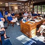 U.S. Walker Cup preparation includes visit with Arnold Palmer