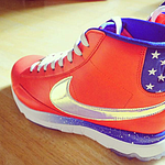 Michelle Wie to sport USA-themed high-top shoes at Solheim Cup