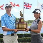 He, Gerard win Polo Golf Junior Classic