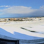 Snowy Old Course at St. Andrews!