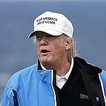 Trump criticizes President Obama for using golf the wrong way