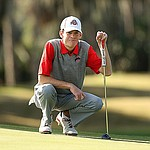 Grimmer, Hossler among co-leaders to tough out conditions at Jones Cup