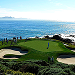Dramatic coastal bluffs provide unparalleled scenery at Pebble Beach