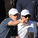 Jordan Spieth and Jake Owen, a match made in bobblehead heaven